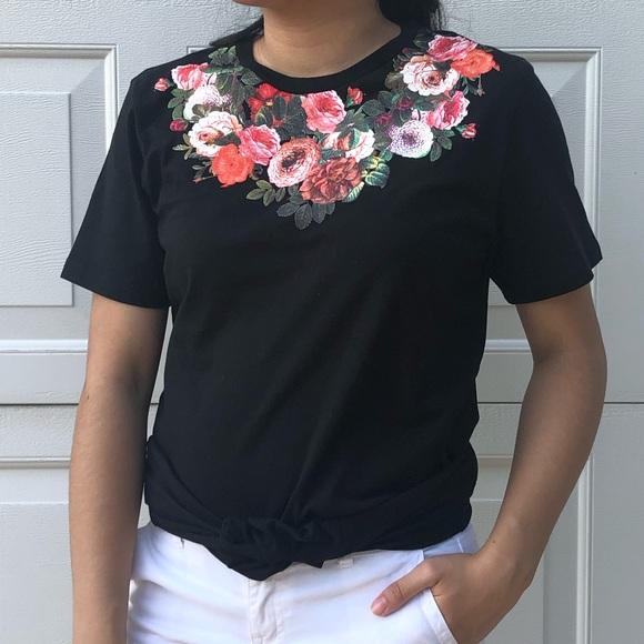 PacSun Other - Pacsun Floral Black Shirt